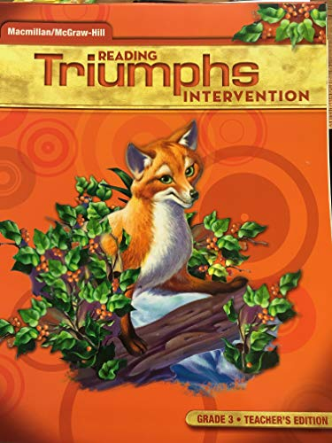 9780021029167: Triumphs Reading Intervention TE Grade 3