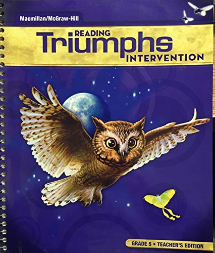 9780021029280: Reading Triumphs Intervention, Grade 5, Teacher's Edition