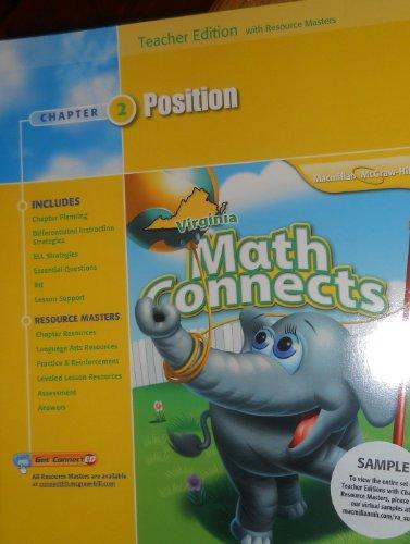 9780021031283: Position, Chapter 2, Math Connects, Teacher Edition, Virginia Edition