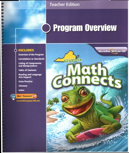 9780021031955: Math Connects, Grade 5, Program Overview, Teacher Edition, Virginia Edition