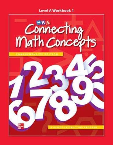 9780021035724: Connecting Math Concepts Level A, Workbook 1