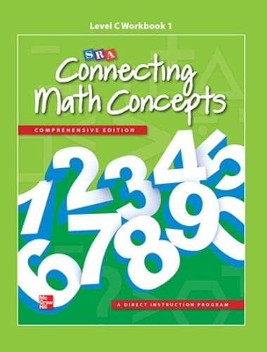9780021035762: Connecting Math Concepts Level C, Workbook 1