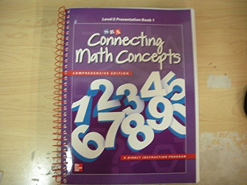9780021036189: SRA Connecting Math Concepts Level E Presentation Book 1