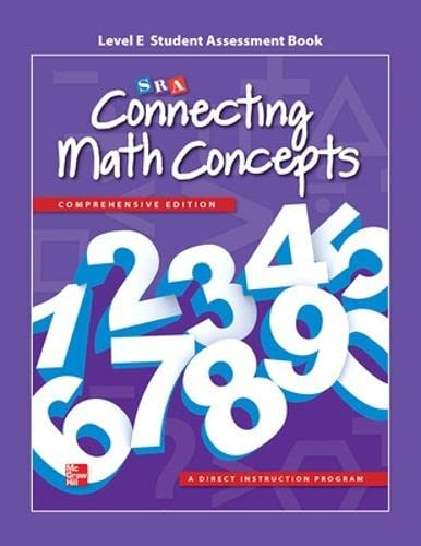 9780021036226: Connecting Math Concepts Level E, Student Assessment Book