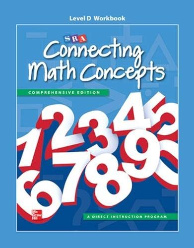 9780021036240: Connecting Math Concepts Level D, Workbook