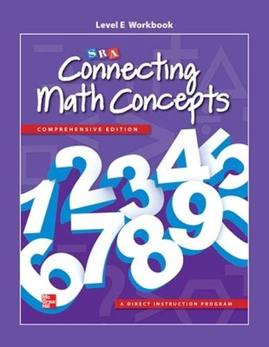 9780021036257: Connecting Math Concepts Level E, Workbook