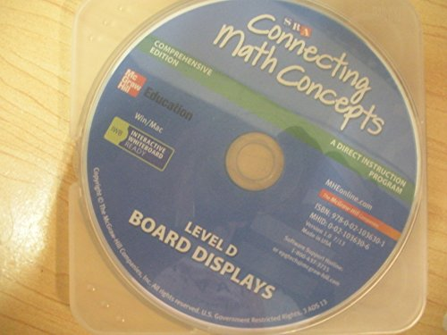 9780021036301: Level D Board Display CD (CONNECTING MATH CONCEPTS)