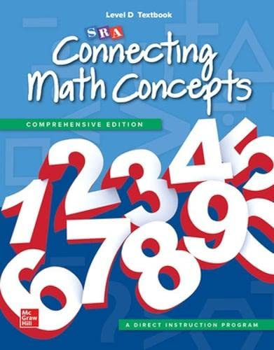 Connecting Math Concepts Level D, Textbook (Hardback): McGraw-Hill Education, SRA/McGraw-Hill