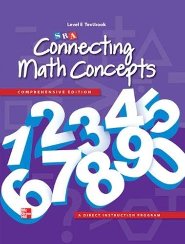 9780021036332: Connecting Math Concepts Level E, Textbook