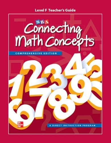 9780021036431: Connecting Math Concepts Level F, Additional Teacher's Guide