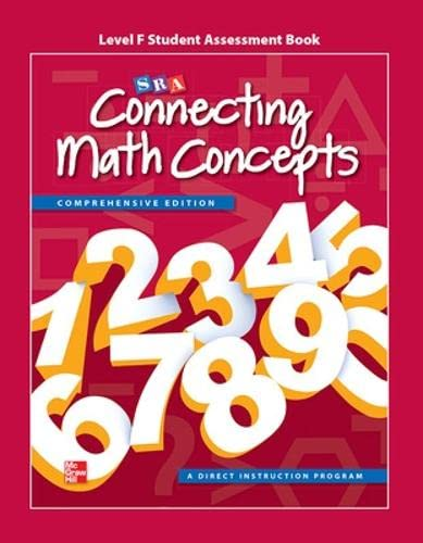 9780021036448: Connecting Math Concepts Level F, Student Assessment Book
