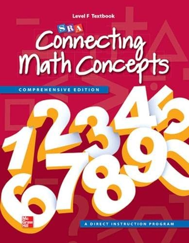 9780021036455: Connecting Math Concepts Level F, Student Textbook