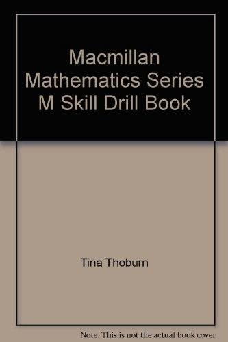 9780021038107: Macmillan Mathematics Series M Skill Drill Book