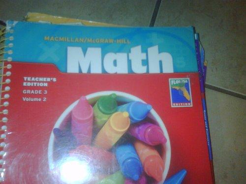 9780021040490: Macmillan/McGraw-Hill Math; Grade 3, Volume 2 Florida Edition (Macmillan/McGraw-Hill Math)