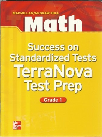 9780021041039: Success on Standardized Tests Terra Nova Test Prep Grade 1