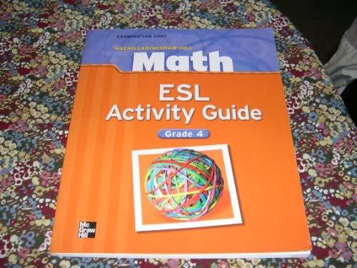 9780021041213: Math ESL Activity Guide - Grade 4
