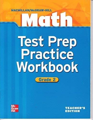 9780021041961: Math Test Prep Practice Workbook Grade 2 Teacher's Edition
