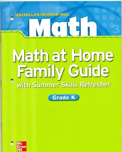9780021042616: Math at Home Family Guide with Summer Skills Refresher (Math)