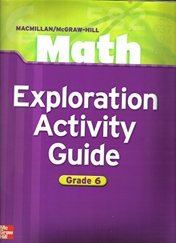 9780021045440: Exploration Activity Guide (Math - Grade 6)