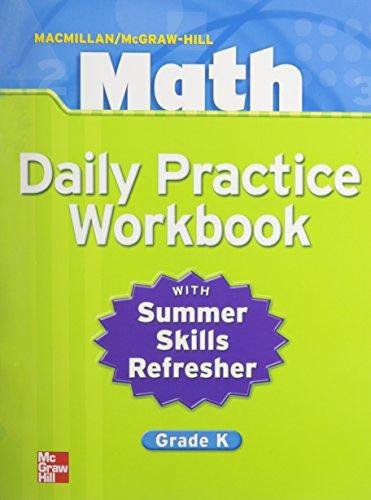 9780021049639: Macmillan/McGraw-Hill Math, Grade K, Daily Practice Workbook (MMGH MATHEMATICS)