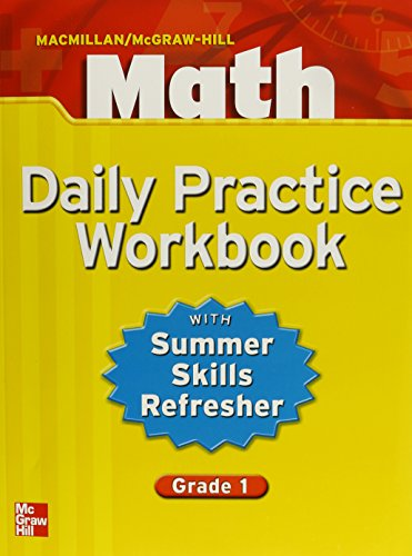 9780021049646: Macmillan/McGraw-Hill Math, Grade 1, Daily Practice Workbook (MMGH MATHEMATICS)