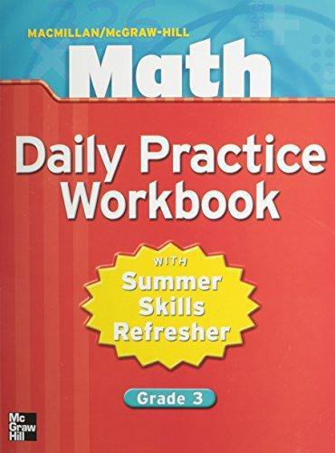 9780021049660: Math Daily Practice Workbook: With Summer Skills Refresher, Grade 3