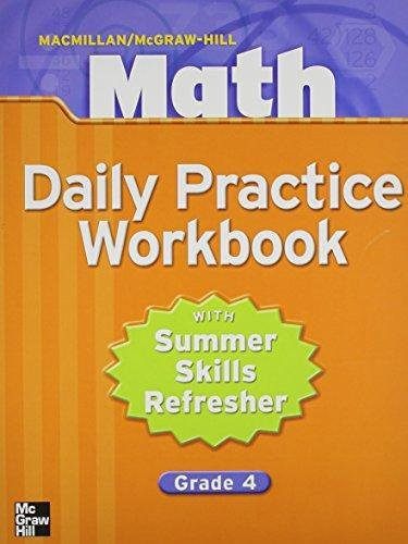9780021049677 Math Daily Practice With Summer Refresher border=