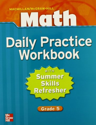 Math: Daily Practice Workbook, Grade 5 by McGraw-Hill Education ...