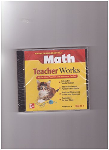 9780021050253: Math TeacherWorks All-In-One Planner and Resource Center, Grade 1