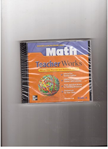 9780021050277: Math Teacher Works All-In-One Planner and Resource Center (Teacher Works)