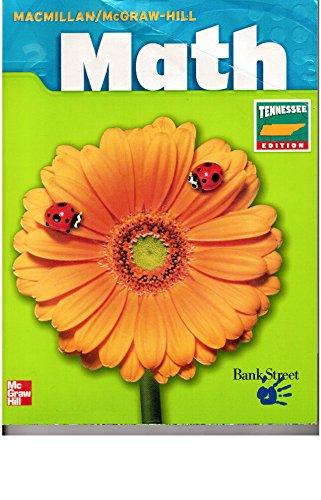 9780021050949: Macmillan/McGraw-Hill Math, Grade K (Tennessee Edition)