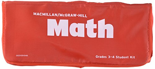 9780021051045: MacMillan/McGraw-Hill Math, Grades 3-4, Student Manipulative Kit