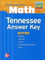 9780021052776: Math Tennessee Answer Key - Grade 2