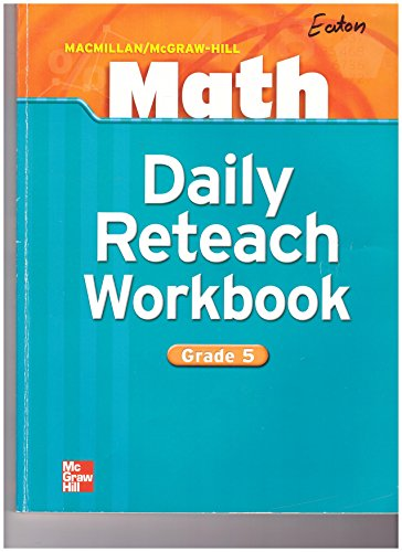 9780021053186: Math Daily Reteach Workbook Grade 5