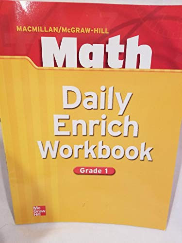 Daily Enrich Workbook, Grade 1 (Macmillan McGraw: none listed