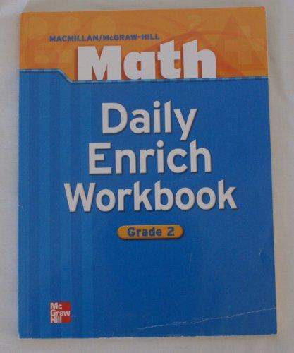 9780021053230: Daily Enrich Workbook, Grade 2, Math