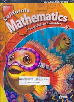 9780021056767: California Mathematics - Concepts, Skills, and Problem Solving - Volume 1 and 2