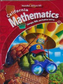 9780021057047: Macmillan McGraw-Hill California Mathematics: Concepts, Skills, and Problem Solving (Vol. 2)