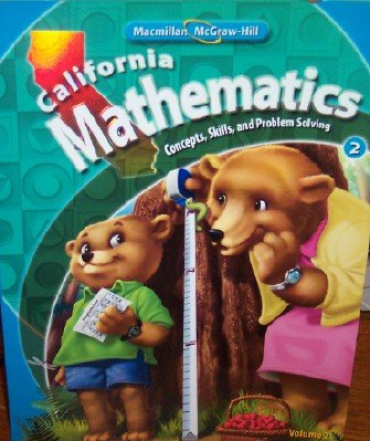 9780021057061: California Mathematics Grade 2 (Volume 2)