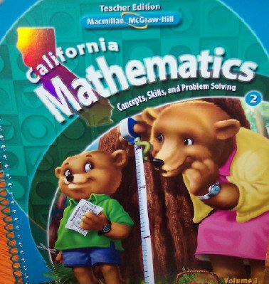 9780021057160: California Mathematics Teacher Edition Grade 2 (Concepts, Skills, and Problem Solving, Volume 1) (Concepts, Skills, and Problem Solving, Volume 1)