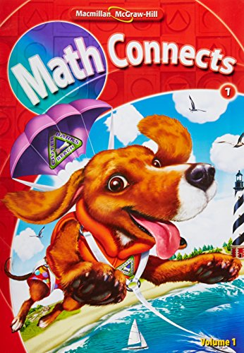 9780021057252: Math Connects, Grade 1, Consumable Student Edition, Volume 1 (Grade 1, 1)
