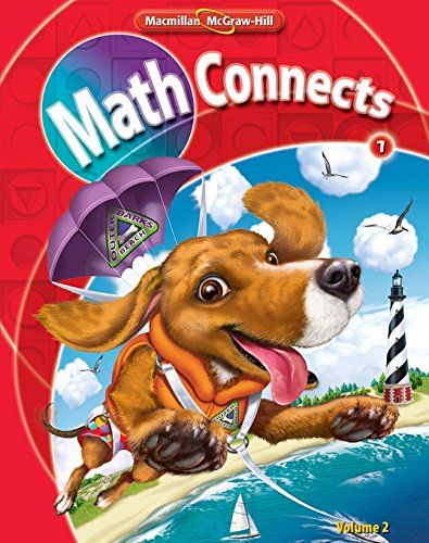 9780021057269: Math Connects, Grade 1, Consumable Student Edition, Volume 2 (ELEMENTARY MATH CONNECTS)