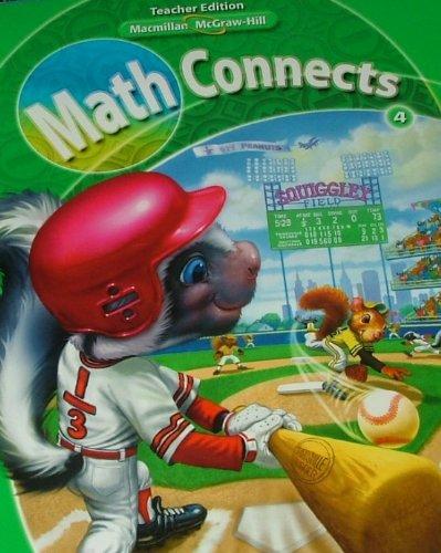 9780021057450: Math Connects 4 Teacher Edition Volume 2