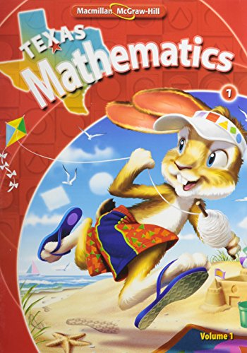 9780021057481: Texas Mathematics, Grade 1