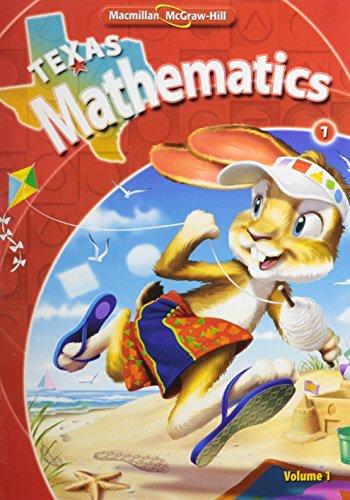 9780021057481: Texas Mathematics, Grade 1
