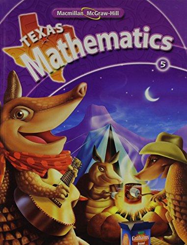 9780021059393: Texas Mathematics, Grade 5