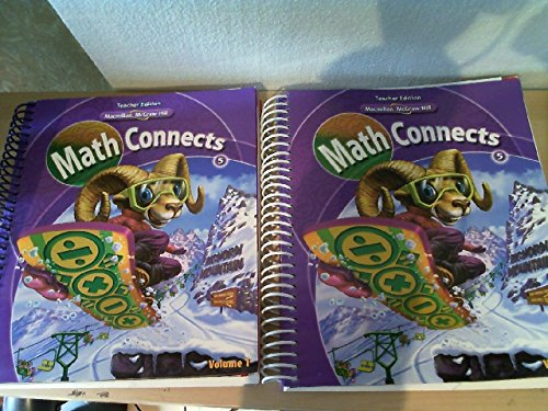 9780021060252: Macmillan McGraw-Hill Math Connects, Grade 5, Vol. 1, Teacher Edition