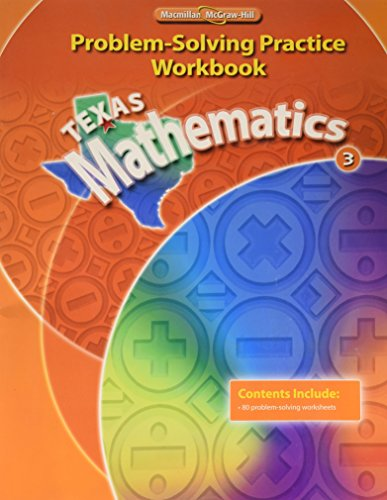 9780021060863: Texas Mathematics 3: Problem-Solving Practice Workbook