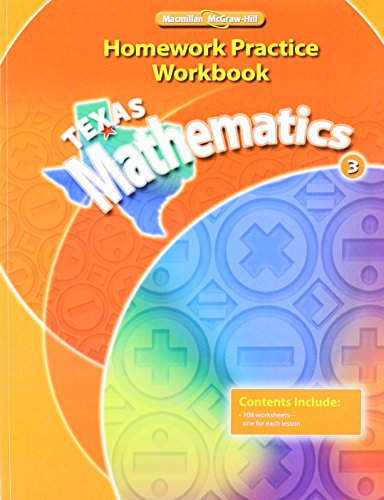 9780021061020: Texas Mathematics, Grade 3
