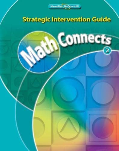 9780021061556: Math Connects, Grade 2, Strategic Intervention Guide (Elementary Math Connects)
